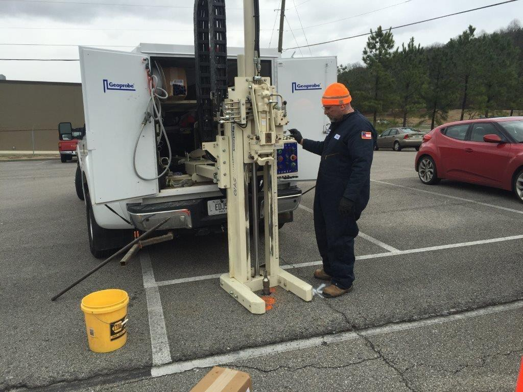 Geoprobe Direct Push Drilling in Birmingham, Alabama