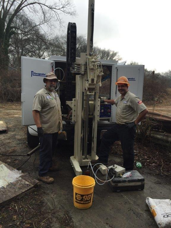 Geoprobe Direct Push Drilling in Atlanta, Georgia