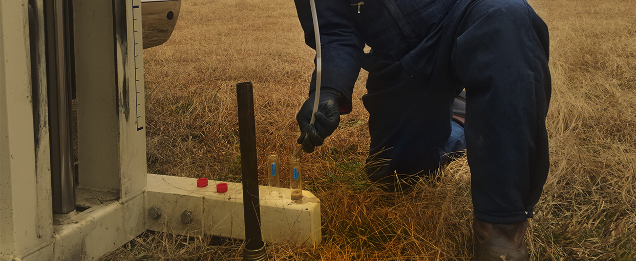 Groundwater Sampling in Atlanta, Georgia
