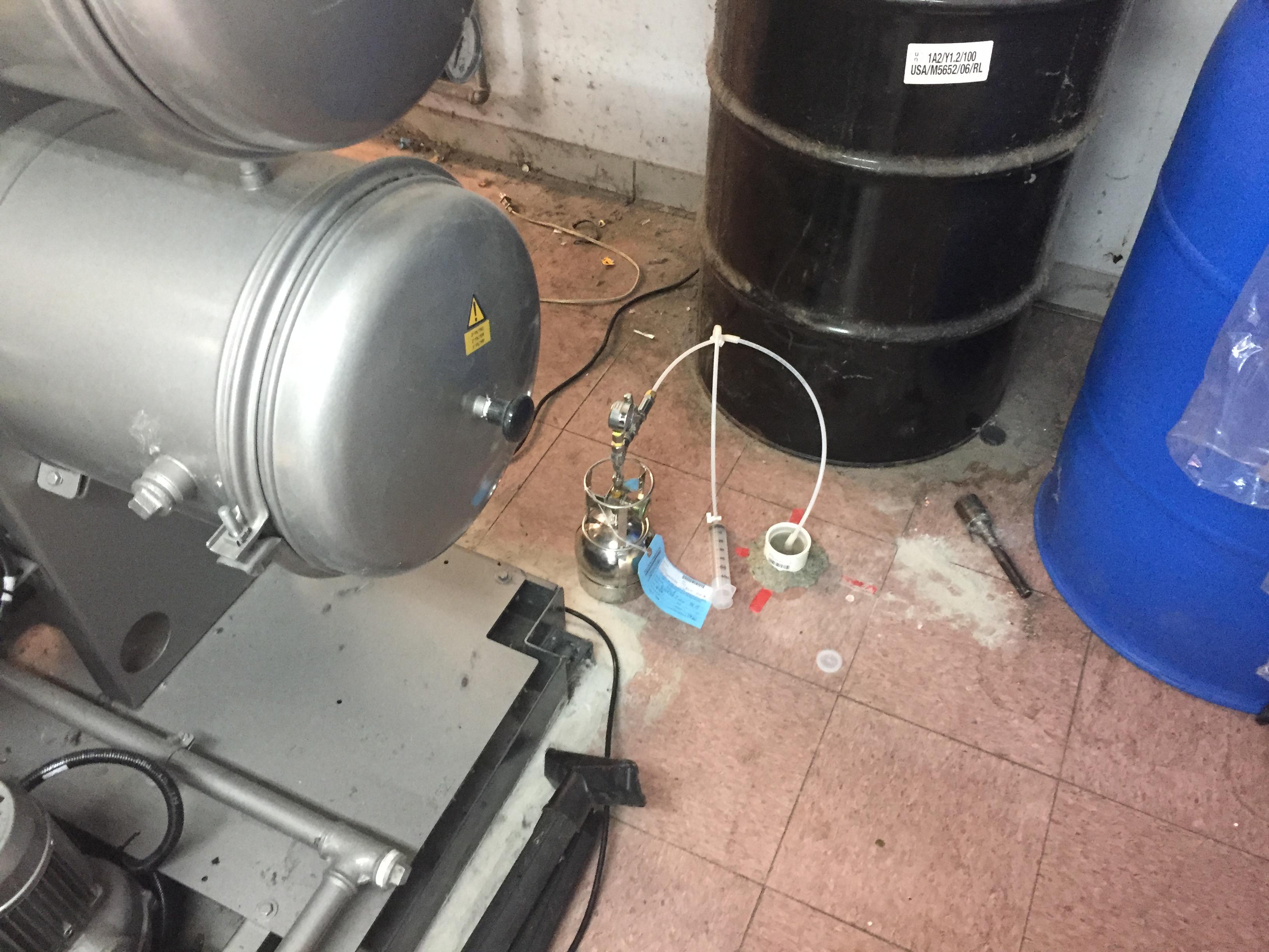 Subslab Soil Gas Sampling at a Dry cleaner in Atlanta, Georgia